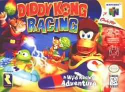 Diddy Kong Racing box art