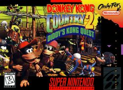 Donkey Kong Country 2: Diddy's Kong Quest box art