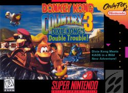 Donkey Kong Country 3: Dixie Kong's Double Trouble box art