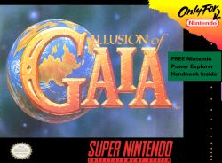 Illusion of Gaia box art