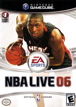NBA Live 06 box art