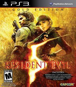 Resident Evil 5 box art