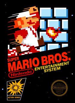 Super Mario Bros. box art