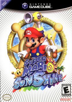 Super Mario Sunshine box art