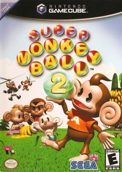 Super Monkey Ball 2 box art