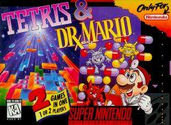 Tetris and Dr. Mario box art