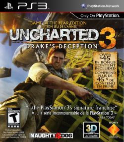 Uncharted 3: Drakes Deception box art