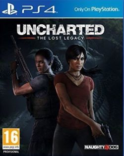Uncharted: The Lost Legacy box art