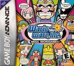 Warioware, Inc.: Mega MicroGame$! box art