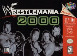 WWF Wrestlemania 2000 box art
