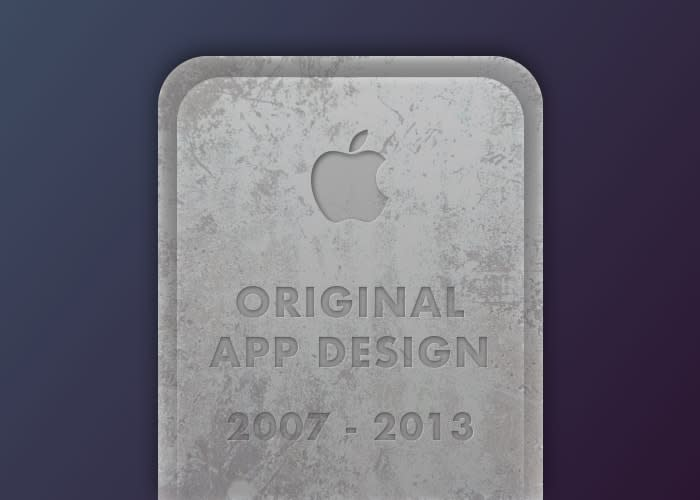 Flat Design Tombstone