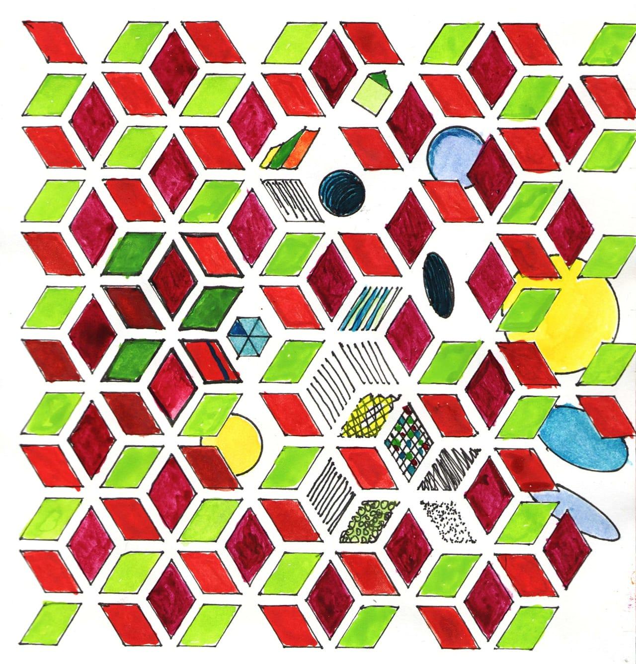 Rhombus apart
