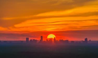 Sunset in Buckhead