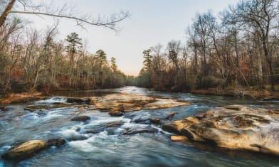 Falls at Yellow River Park