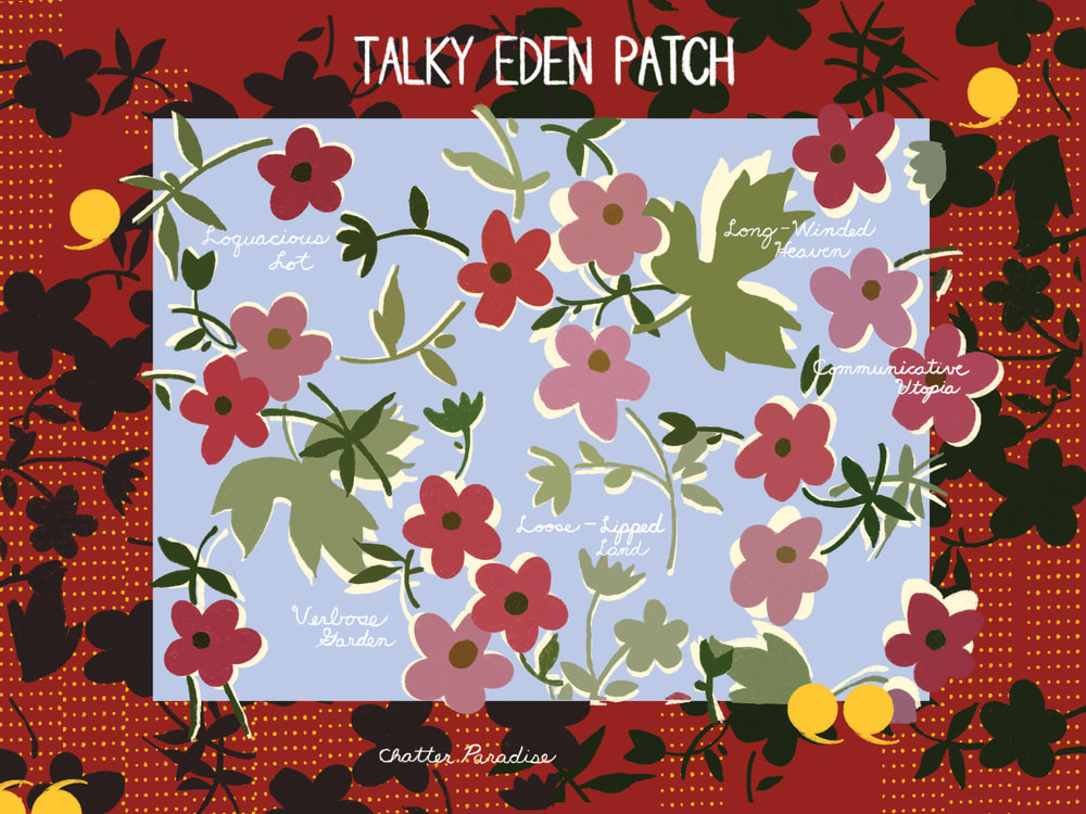 Talky Eden Patch
