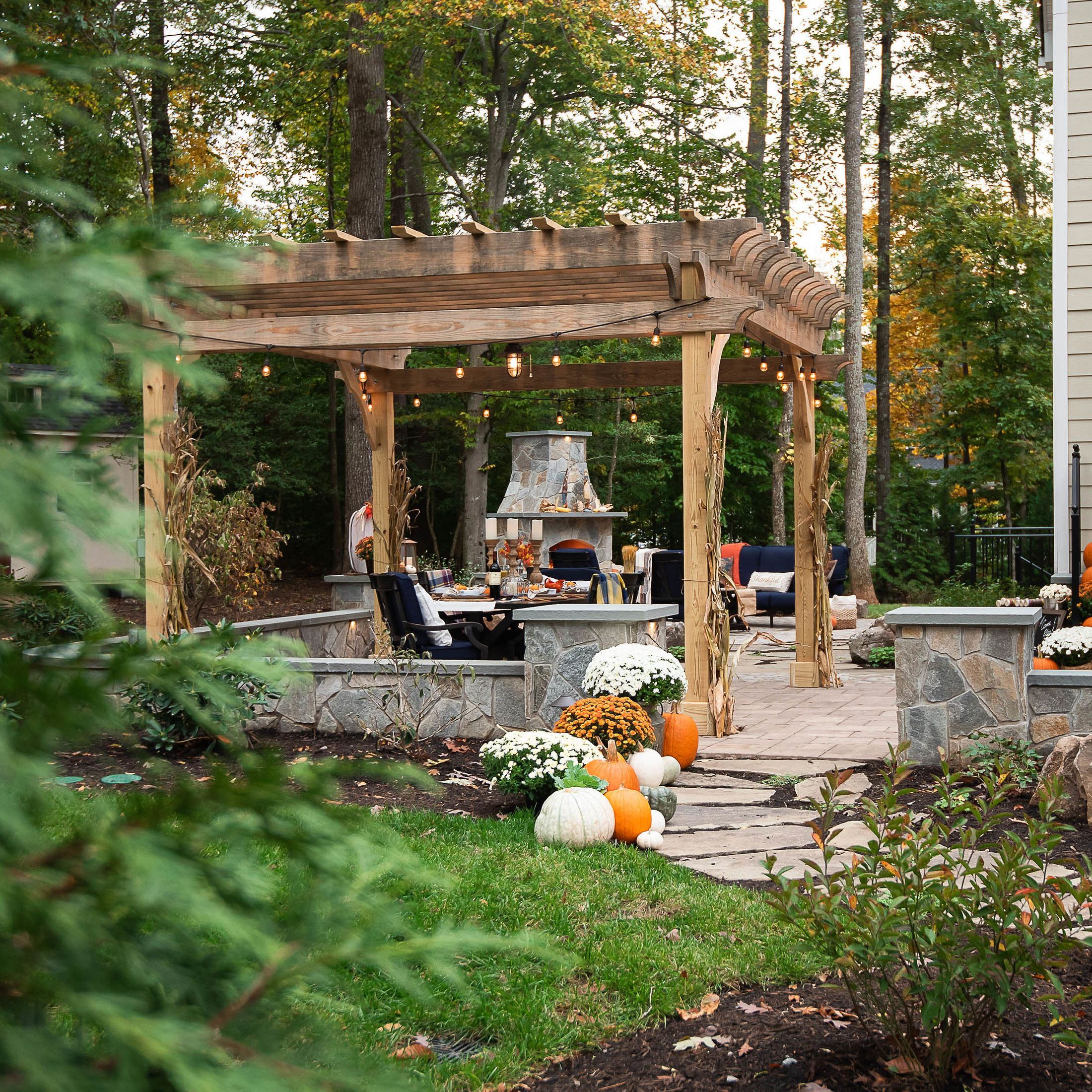 A Backyard to be Thankful For