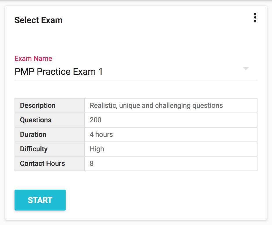 BrainBOK Exam Simulator - Exam Selection