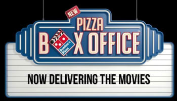 Domino's Pizza Box Office Logo