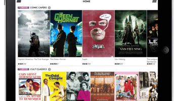 NOW TV iPad Home screen