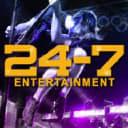 24-7 entertainment logo