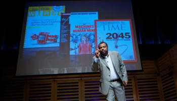 Bonin Bough at Changing Media Summit
