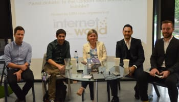 Is the London tech scene in a bubble? London Technology Week panel for Internet World, moderated by Robert Andrews