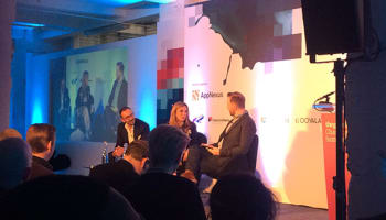 Robert Andrews, Stephen van Rooyen and  Nicola Mendelsohn at Changing Media Summit 2016