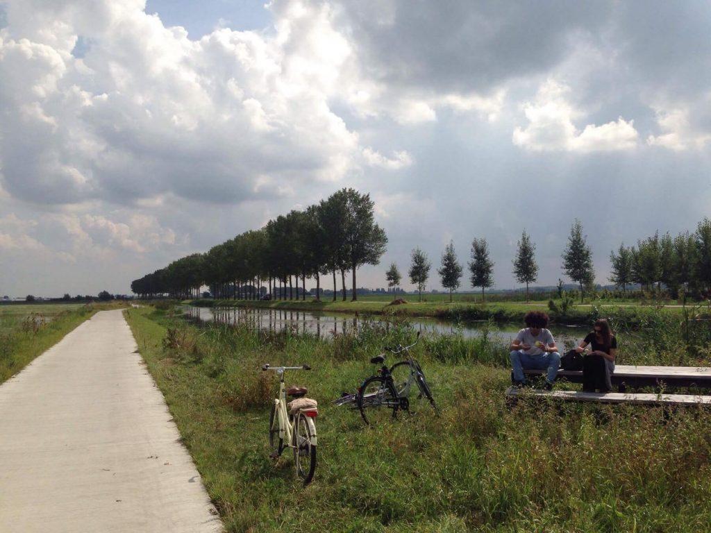 Cyklostezky v Holandsku jsou téměř všude.