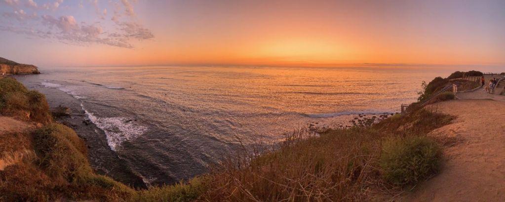 Takovýhle výhled na oceán Tereza jen tak nezapomene.