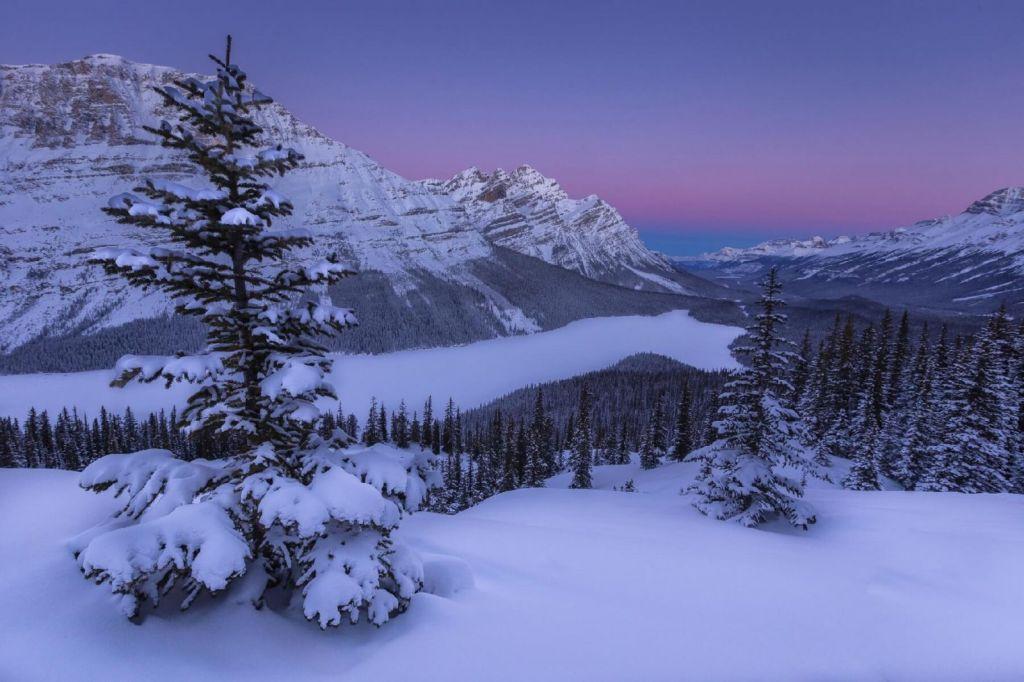 Nádhery zasněžené Kanady se dají objevovat i na běžkách.