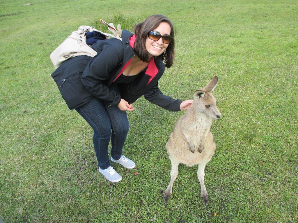 Základ je získat selfie s klokanem