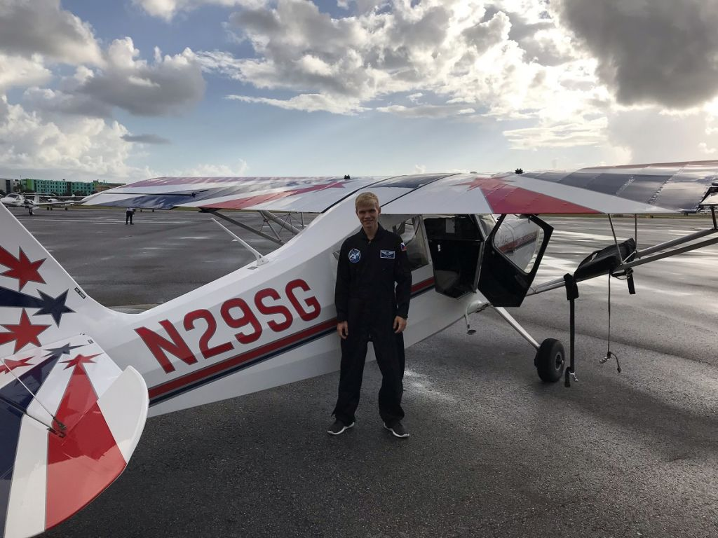 Jakub Zemek a jeho zkušenosti s létáním