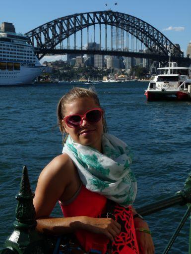 Harbour Bridge je krásná dominanta Sydney