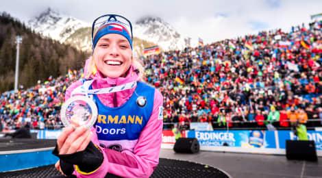 Biatlonistka Markéta Davidová: Snažím se, aby se lidé za mne tady nemuseli stydět a já jim dělala radost