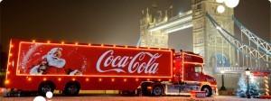 Coke Christmas TRuck