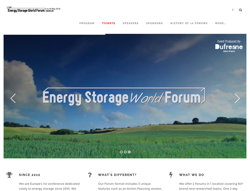 Energy Storage Forum - Event Marketing