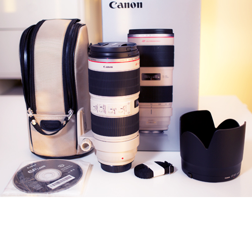 Canon 70-200mm f2.8 USM IS II