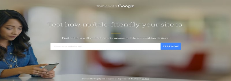 google page speed insights mobile friendly