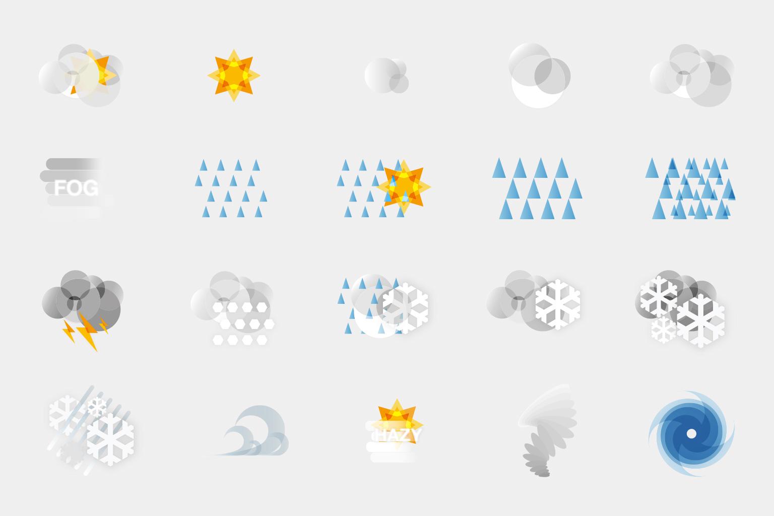 Weathermob Icons