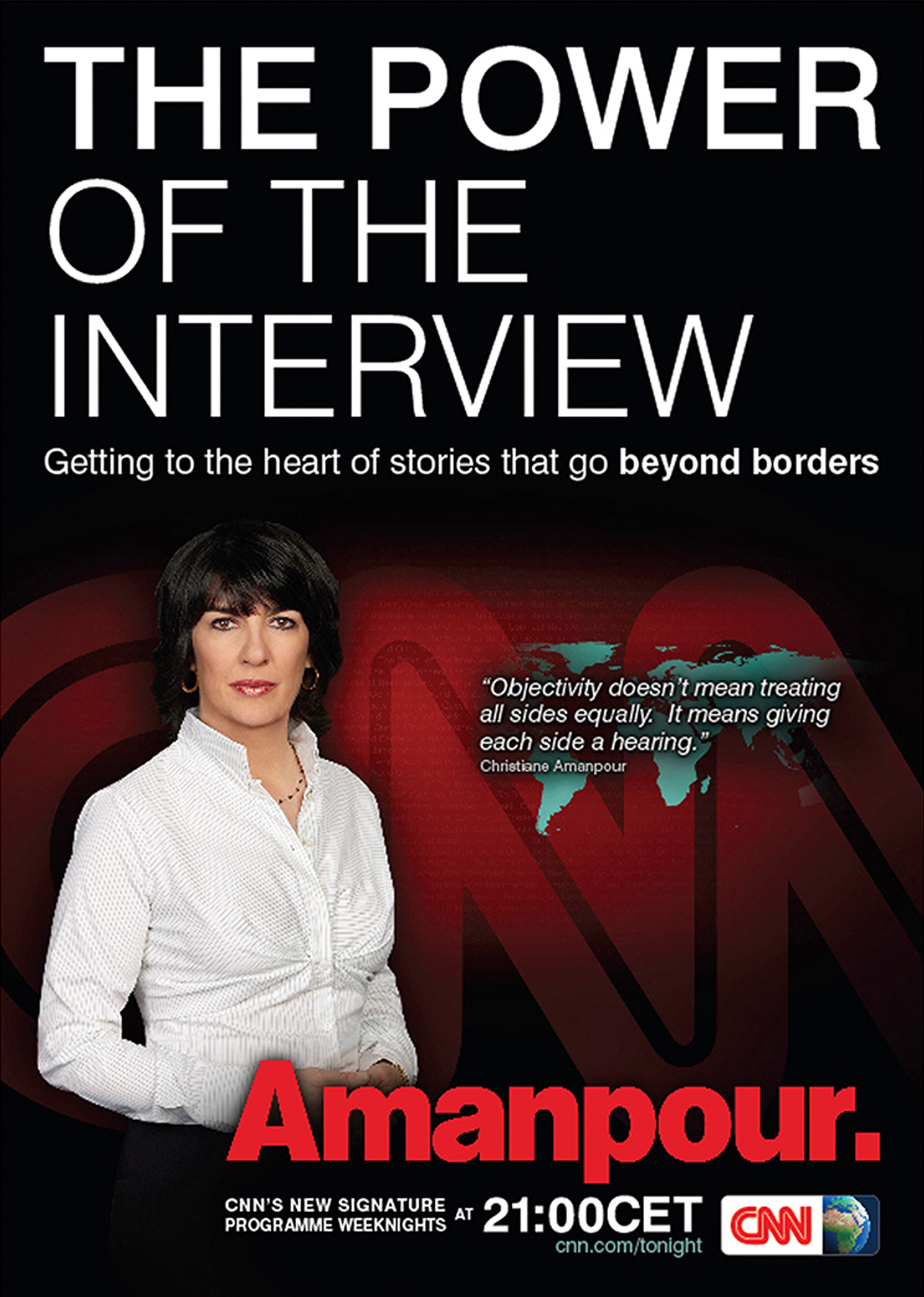CNN Armanpour Poster