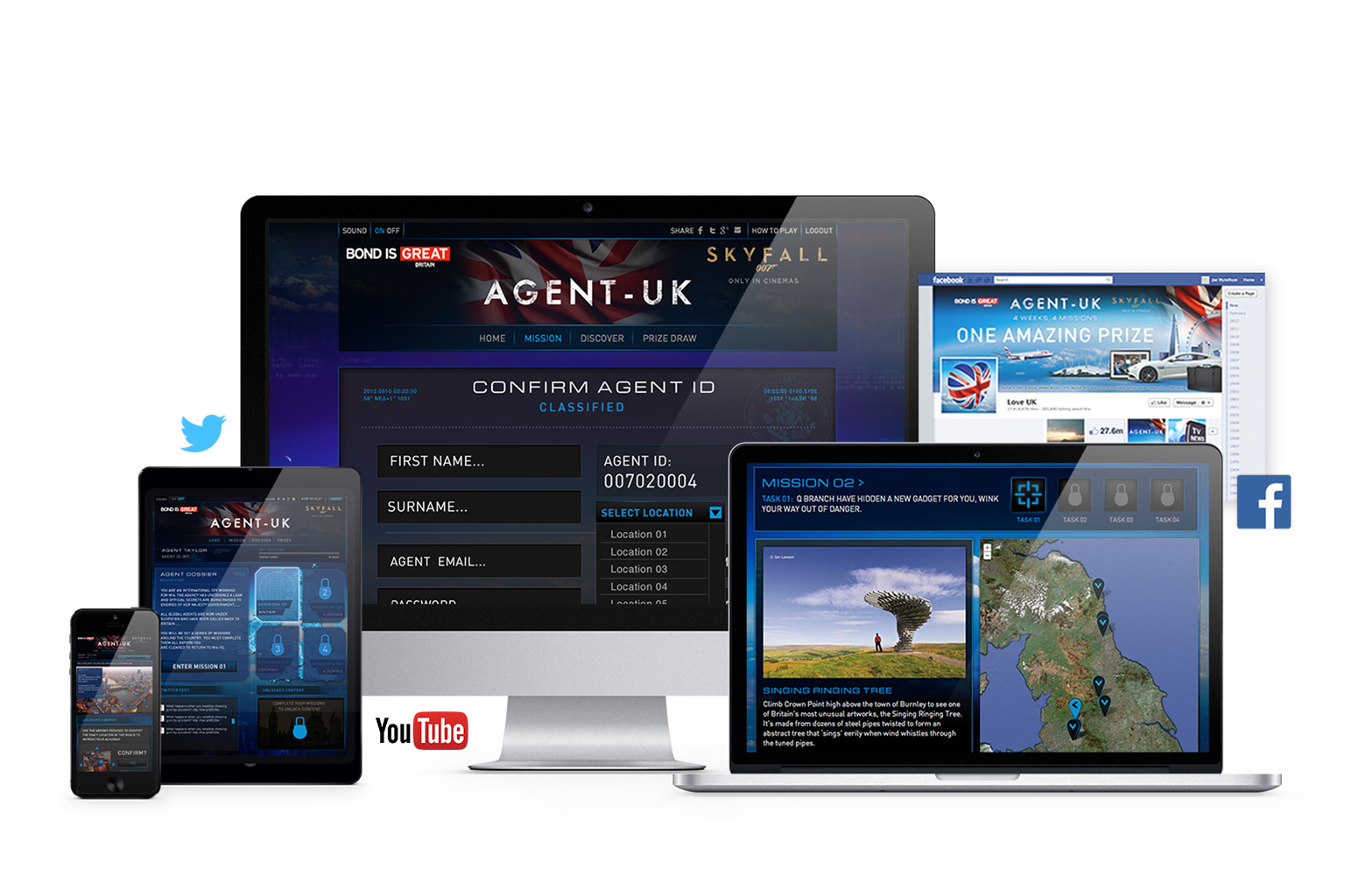 Agent UK Responsive Mock Up
