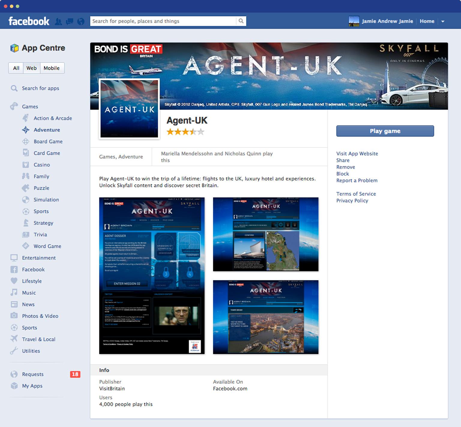 AgentUK on facebook