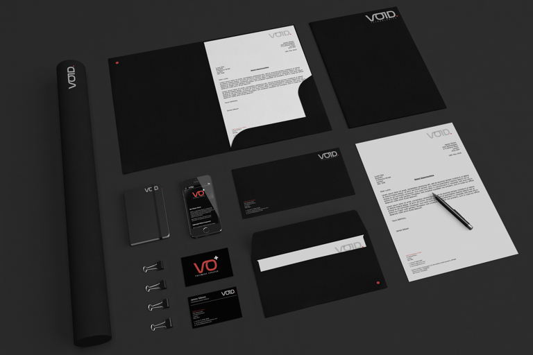 VOID Technologies Branding Assets Overview
