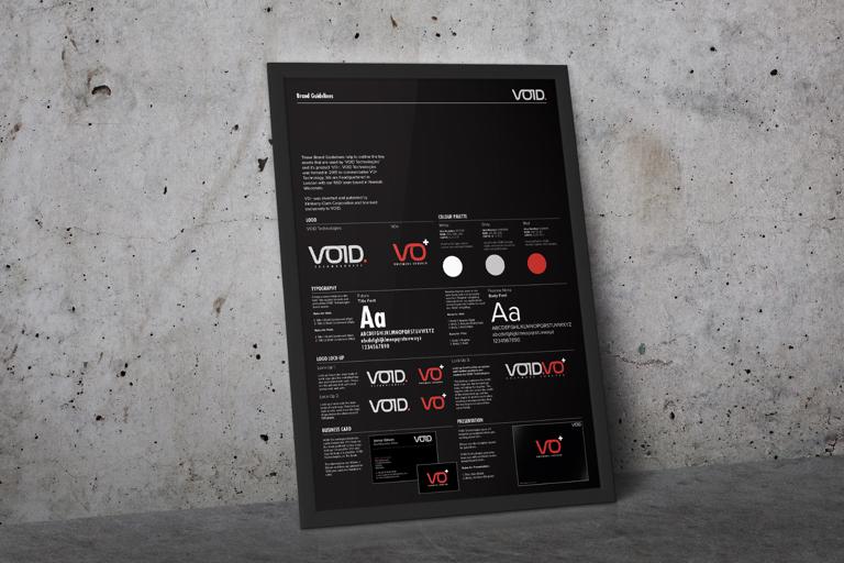 VOID Technologies Styleguide