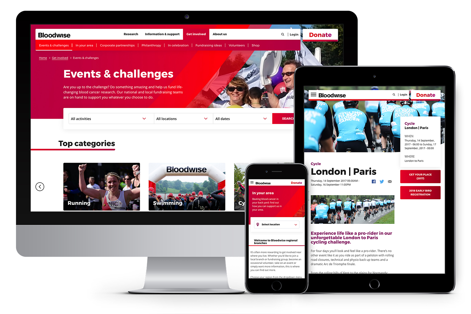 Get Involved with Bloodwise Events and Challenges