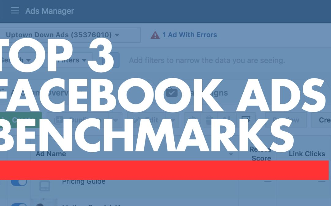 Facebook Ad Benchmarks 2018
