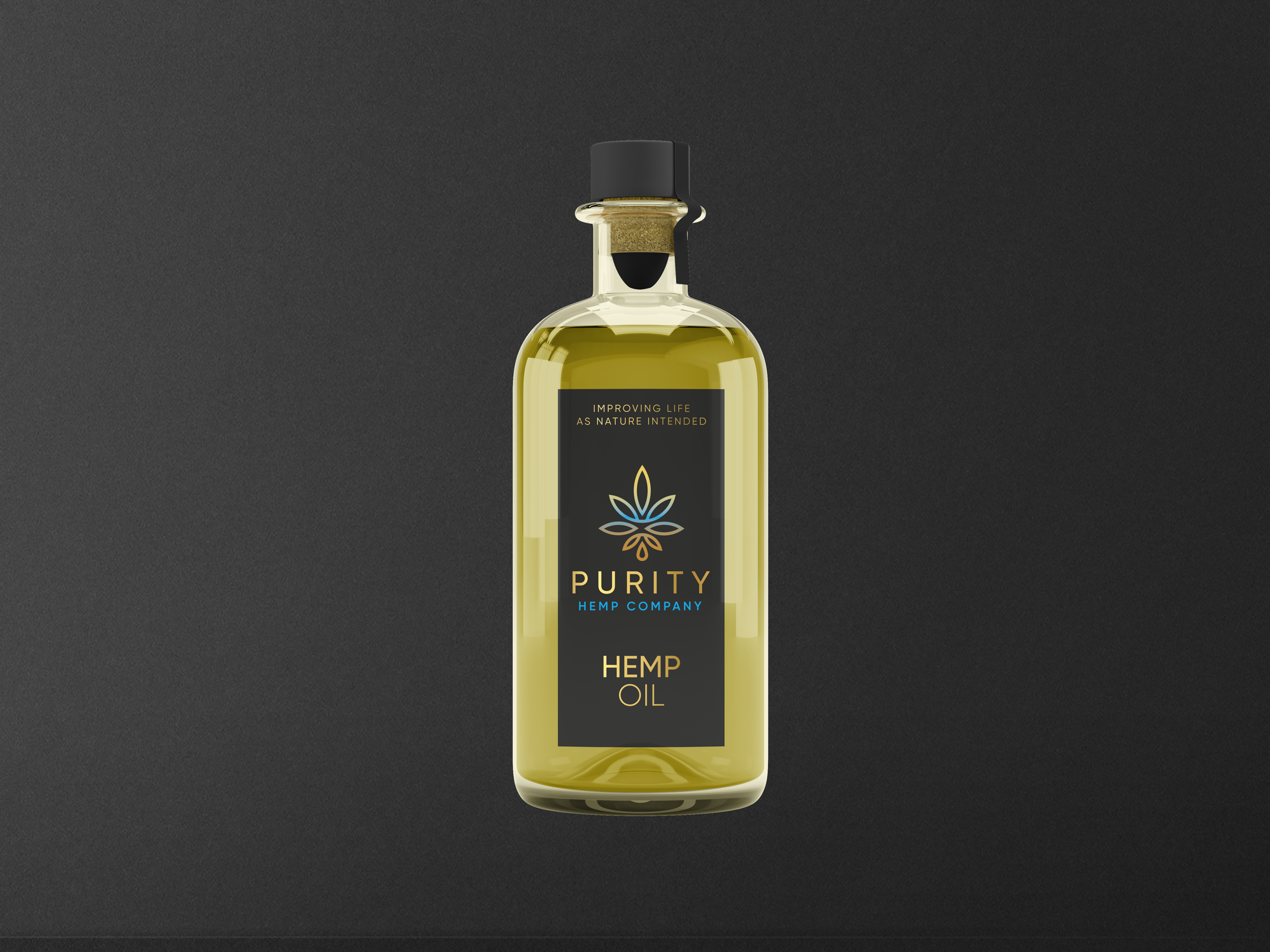 Download Purity Hemp Company - brand identity, guideline and assets.