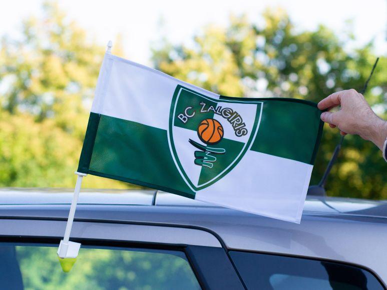 Žalgirio automobilinė vėliavėlė