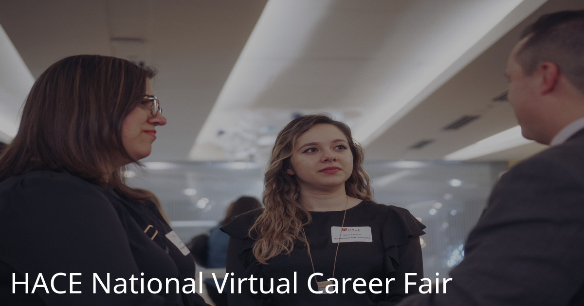 HACE National Virtual Career Fair