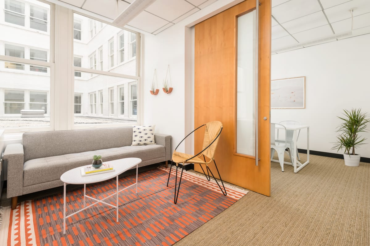 therapy space at 114 Sansome ,San Francisco